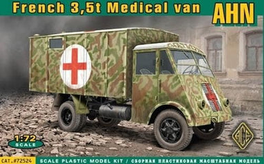 ACE 1/72 AHN FRENCH 3,5T MEDICAL VAN