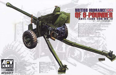 AFV-CLUB 1/35 BRITISH MK.4 6PDR ANTI-TANK GUN