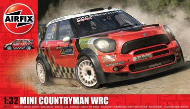 AIRFIX 1/32 MINI COUNTRYMAN WRC