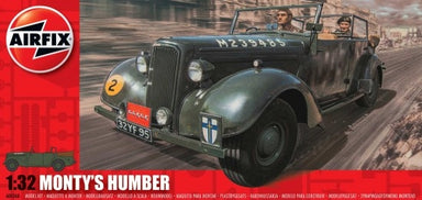AIRFIX 1/32 MONTY'S HUMBER SNIPE STAFF CAR
