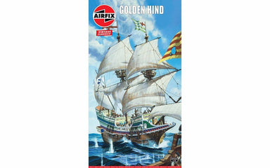 Airfix 1/72 Golden Hind Model Ship