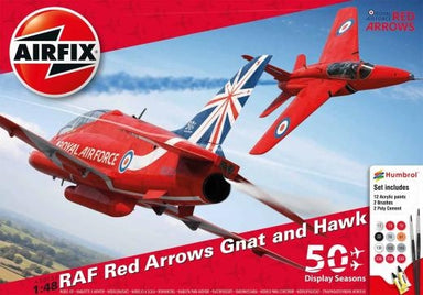 AIRFIX 1/48 RED ARROWS 50TH DISPLAY SEASON GIFT SET
