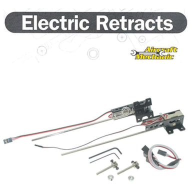 AIRCRAFT MECHANICS ELECTRIC 25-46 SIZE MAIN RETRACTS AND LEGS