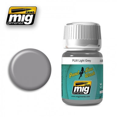 MIG AMMO PANEL LINE WASH LIGHT GREY