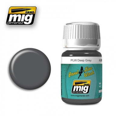 MIG AMMO PANEL LINE WASH DEEP GREY