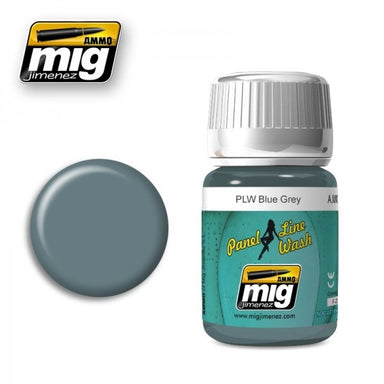 MIG AMMO PANEL LINE WASH BLUE GREY