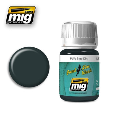 MIG AMMO PANEL LINE WASH BLUE DIRT