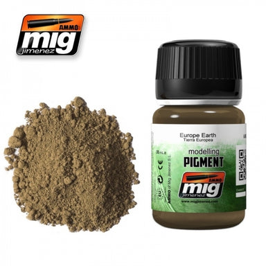 MIG AMMO PIGMENT - EUROPE EARTH