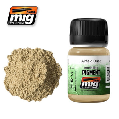 MIG AMMO PIGMENT - AIRFIELD DUST