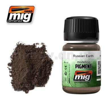 MIG AMMO PIGMENT - RUSSIAN EARTH