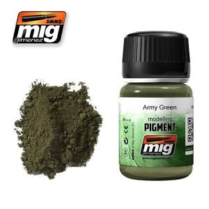 MIG AMMO PIGMENT - ARMY GREEN