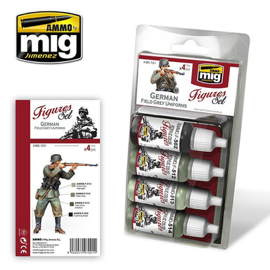 MIG AMMO GERMAN FIELD GREY UNIFORMS