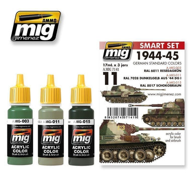 MIG AMMO 1944-1945 GERMAN STANDARD COLORS