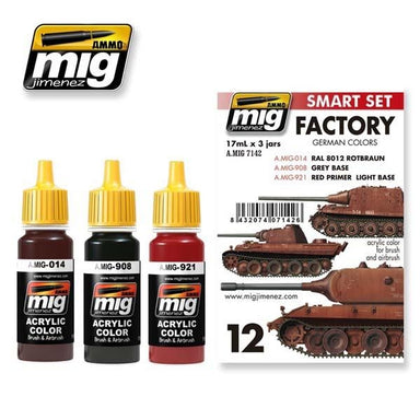 MIG AMMO GERMAN FACTORY COLORS