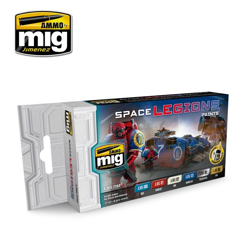 MIG AMMO SPACE LEGIONS COLOR SET