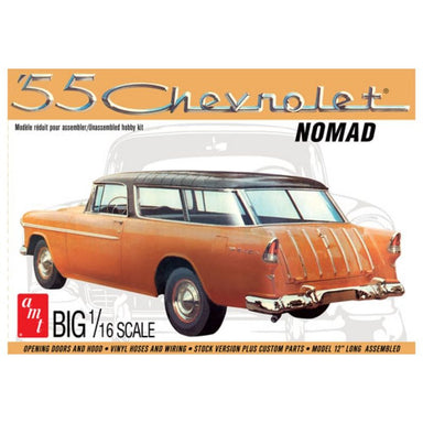 AMT 1/16 1955 CHEVY NOMAD WAGON PLASTIC KIT