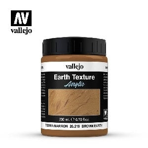 VALLEJO BROWN EARTH 200ml