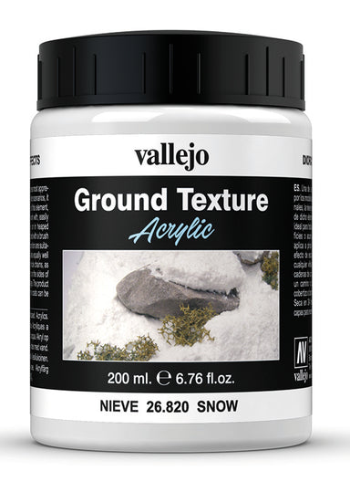 VALLEJO DIORAMA EFFECTS SNOW 200ML