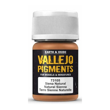 VALLEJO PIGMENT NATURAL SIENA 30ml