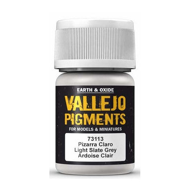 VALLEJO PIGMENT LIGHT SLATE GREY 30ml