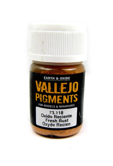 Vallejo Pigments Fresh Rust 30ml