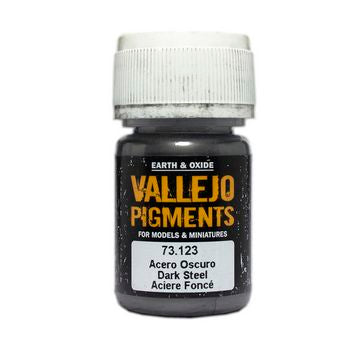 Vallejo Pigments Dark Steel 30ml