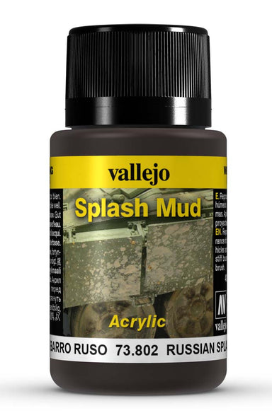 VALLEJO WEATHERING EFFECTS RUSSIAN SPLASH MUD 40 ML