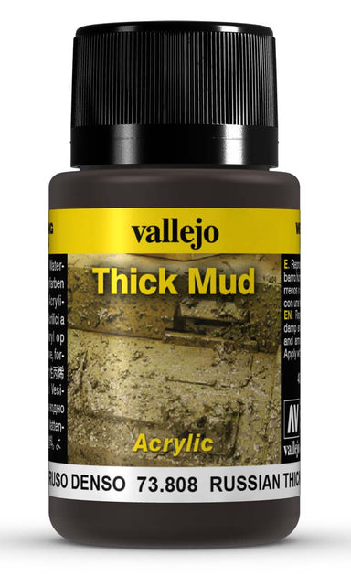VALLEJO WEATHERING EFFECTS RUSSIAN THICK MUD 40 ML