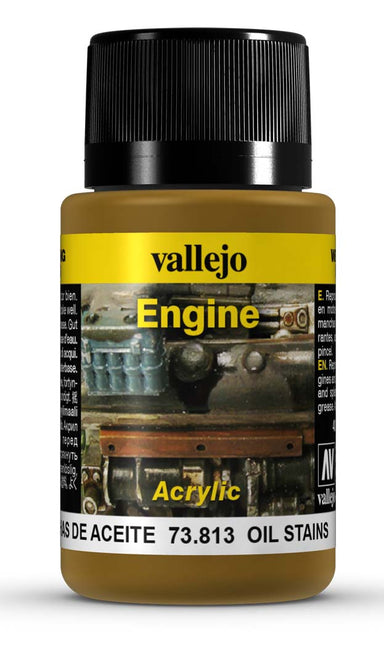 VALLEJO WEATHERING EFFECTS OIL STAINS 40 ML
