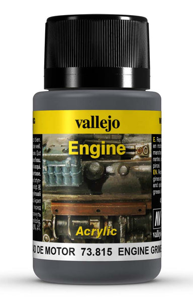 VALLEJO WEATHERING EFFECTS ENGINE GRIME 40 ML