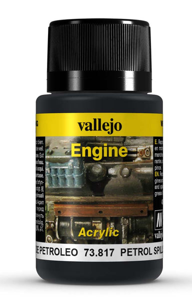 VALLEJO WEATHERING EFFECTS PETROL SPILLS 40 ML