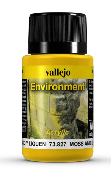 VALLEJO WEATHERING EFFECTS MOSS AND LICHEN EFFECT 40 ML