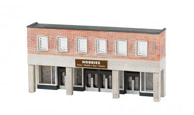 Bachmann N Building Front HObby Store
