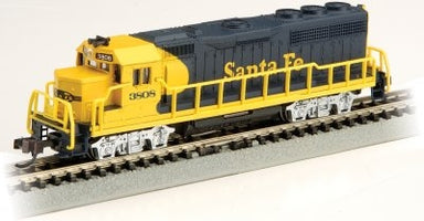 Bachmann N GP40 Sf/Blue/Yellow #3808