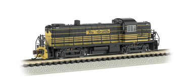 BACHMANN N RS3 W/DCC D&RGW EARLY #5200