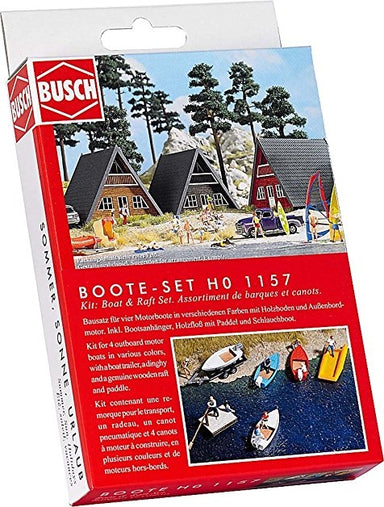 BUSCH HO BOAT AND RAFT SET