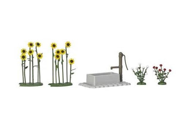 BUSCH HO SUNFLOWERS/ROSES/WATER PUMP
