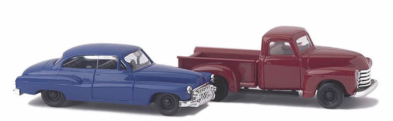 BUSCH N CHEVROLET PICKUP AND BUICK '50 SET