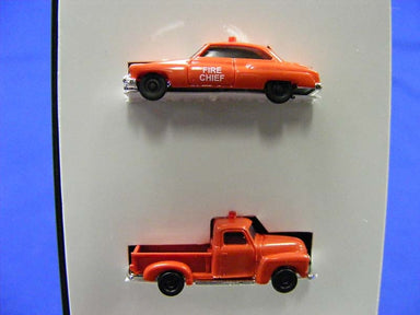 BUSCH N CHEVROLET PICKUP AND BUICK '50 FIRE SET