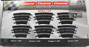CARRERA 20577 EXC/EVO/DIGITAL CURVED TRACK 1/30 (6