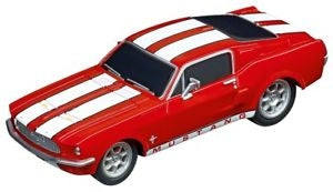CARRERA GO!! FORD MUSTANG '67 RACING RED