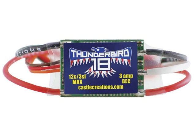 CASTLE CREATIONS THUNDERBIRD 18A BRUSHLESS ESC