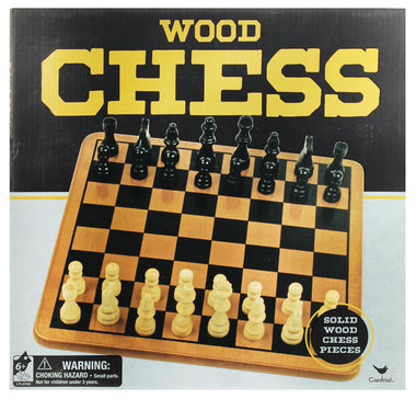 CARDINAL WOOD CHESS SET