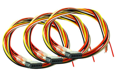 Dcc Concepts Decoder Harness 6 Pin Female (150mm) (3 Pack)