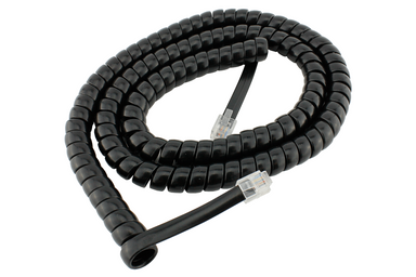 Dcc Concepts RJ12 6pin Curly Cord For NCE Powercab and Cobalt Alpha - 2m/6ft