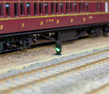 Dcc Concepts 4x 2-wire Red/Green Ground Signal