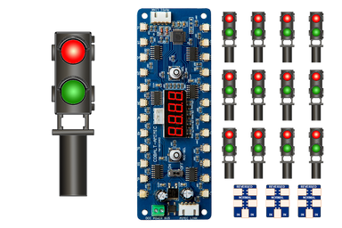 Dcc Concepts ALPHA MIMIC 12x Red/Green Ground Signal