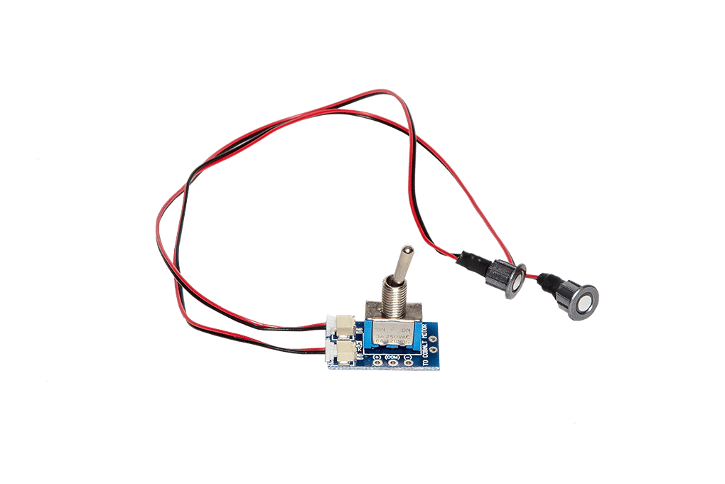 Dcc Concepts Cobalt iP Analogue and Omega Switch Pack with LEDs (RED and GREEN)