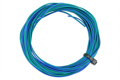 Dcc Concepts TWIN Decoder Wire Stranded 6m (32g) Green/Blue