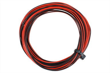 Dcc Concepts Decoder Wire Stranded 6m (32g) Twin Red/Black
